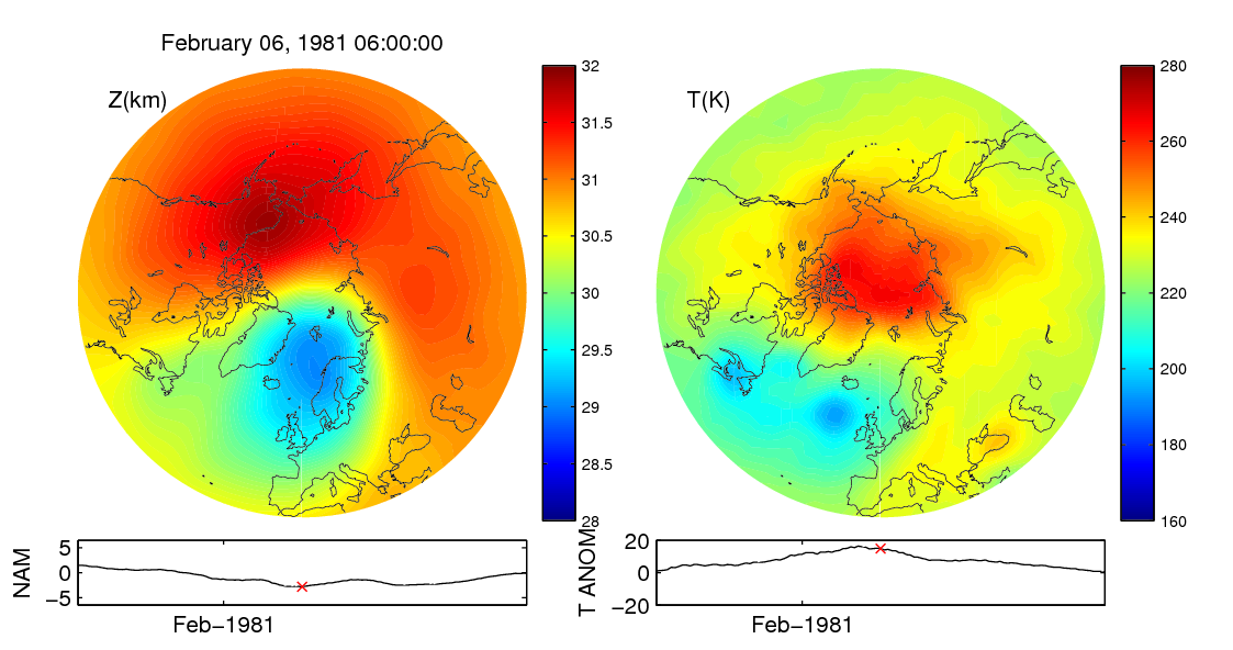 Stratospheric sudden warming 1981_02_06