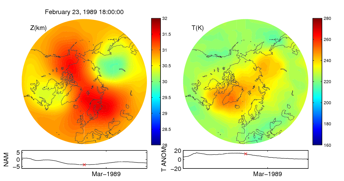 Stratospheric sudden warming 1989_02_23