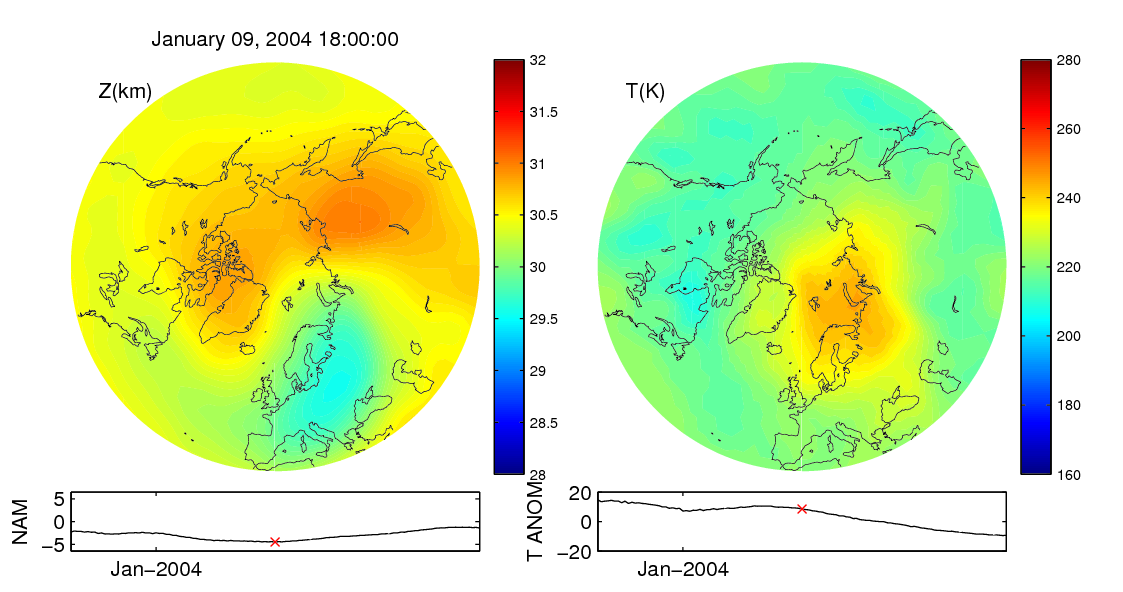 Stratospheric sudden warming 2004_01_09