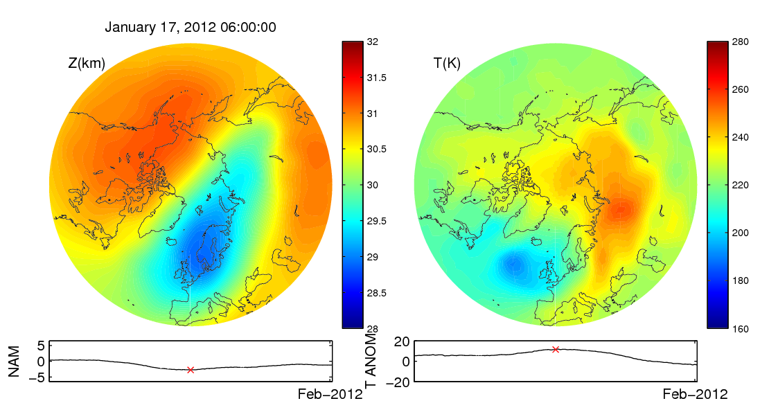 Stratospheric sudden warming 2012_01_17